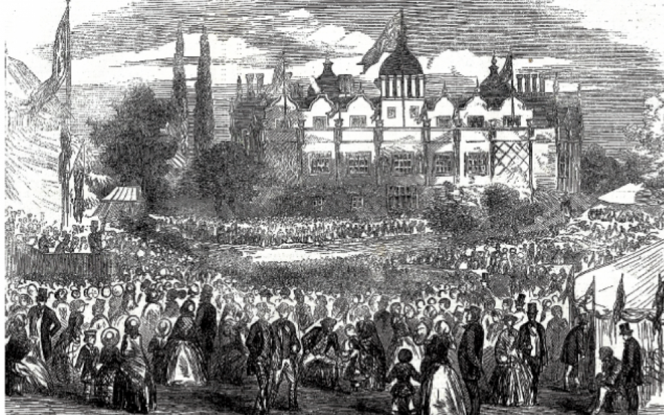 Free to all Aston Hall and Park - People Power in Victorian Birmingham