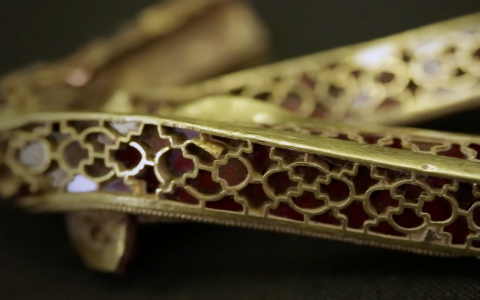 Untying the Anglo Saxon knot: Staffordshire Hoard conservation